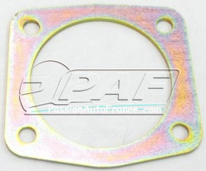 Rear drum plate spacer